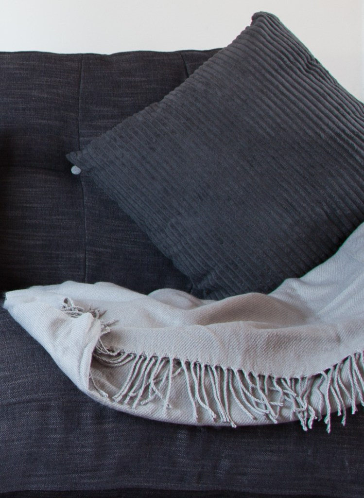 Lovely button upholstery details on the DFS Arden sofa