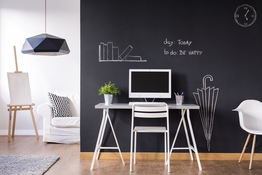 Creating zones in your home office or study can be a more functional way to work