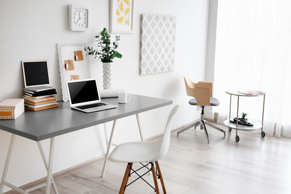Great ideas and tips for creating a functional and productive home office space