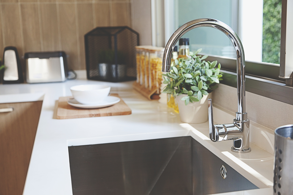 Are you renovating your kitchen? Why not update your kitchen sink and taps too.