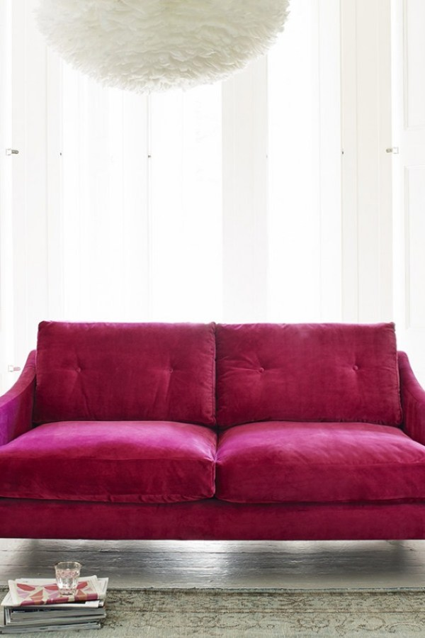 Velvet furniture: on trend and luxurious ideas for your home