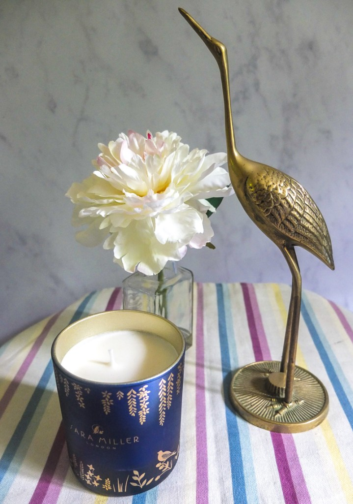 Beautiful scented candle by Sara Miller London - wonderful for adding fragrance to your home