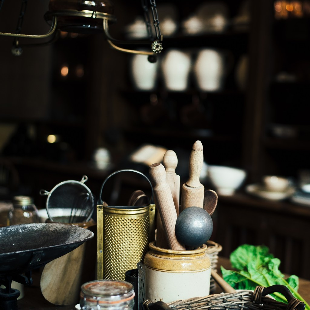 Gorgeous vintage kitchenware