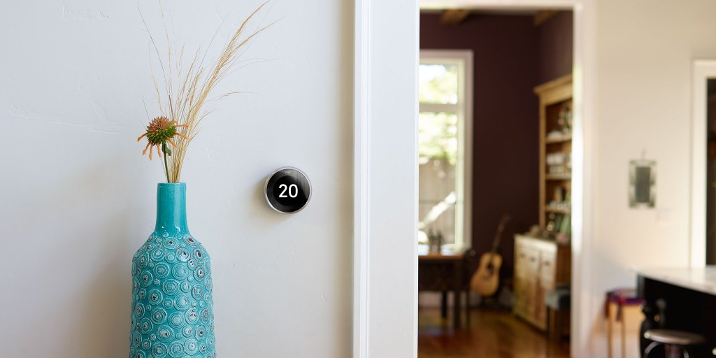 Smart thermostat's like the Nest are super minimal and unobtrusive