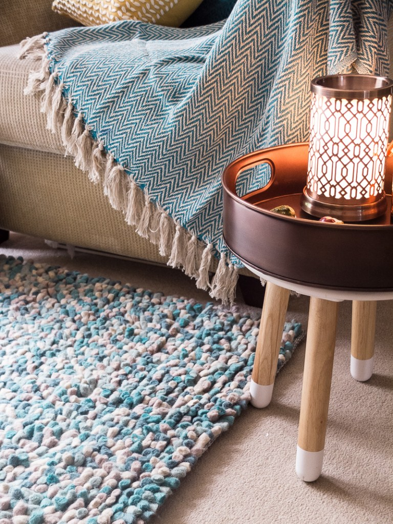How to use a copper and teal colour palette in your home decor