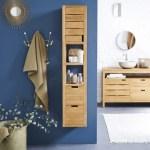 Solid wood bathroom furniture and unusual basins from Tikamoon