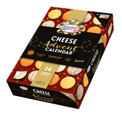 Illchester cheese advent calendar from Asda