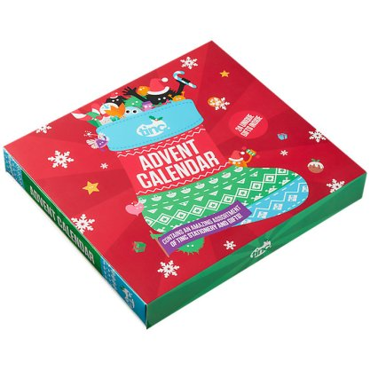 Countdown to Christmas with a Tinc advent calendar, full of stationery and gifts