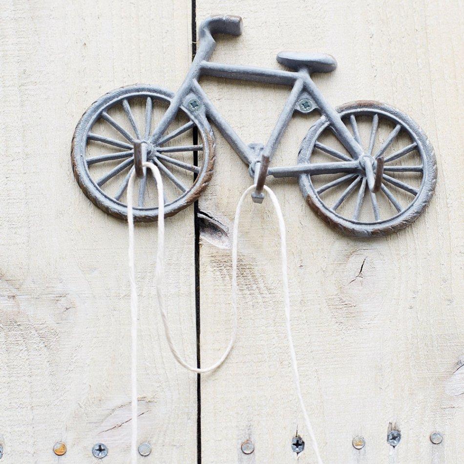 Bicycle design key rack hanger hook