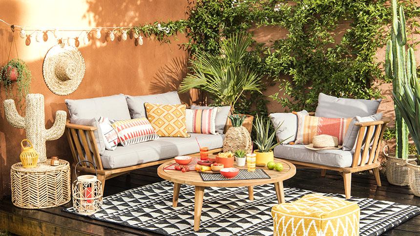 Gorgeous Hacienda home decor trend from Maisons du Monde