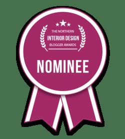 Fresh Design Blog nominated for Best Individual Blog in the Northern Interior Design Blog Awards 2018