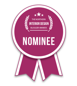 Fresh Design Blog nominated for Best Individual Blog in the Northern Interior Design Blog Awards 2018