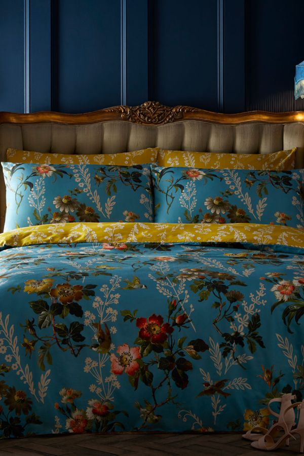 Bedding and cushions from Oasis homeware