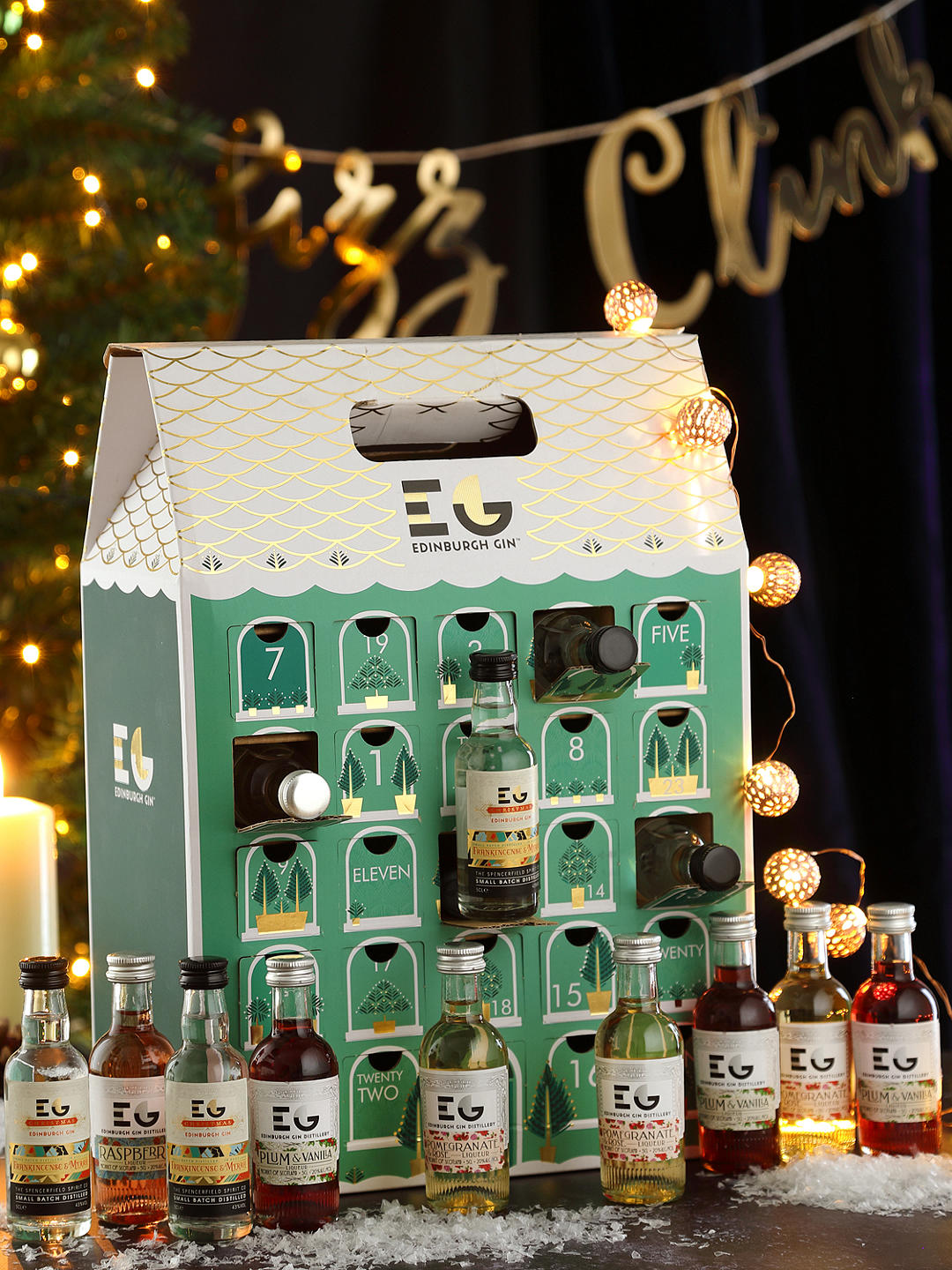 Countdown to Christmas with a gin advent calendar