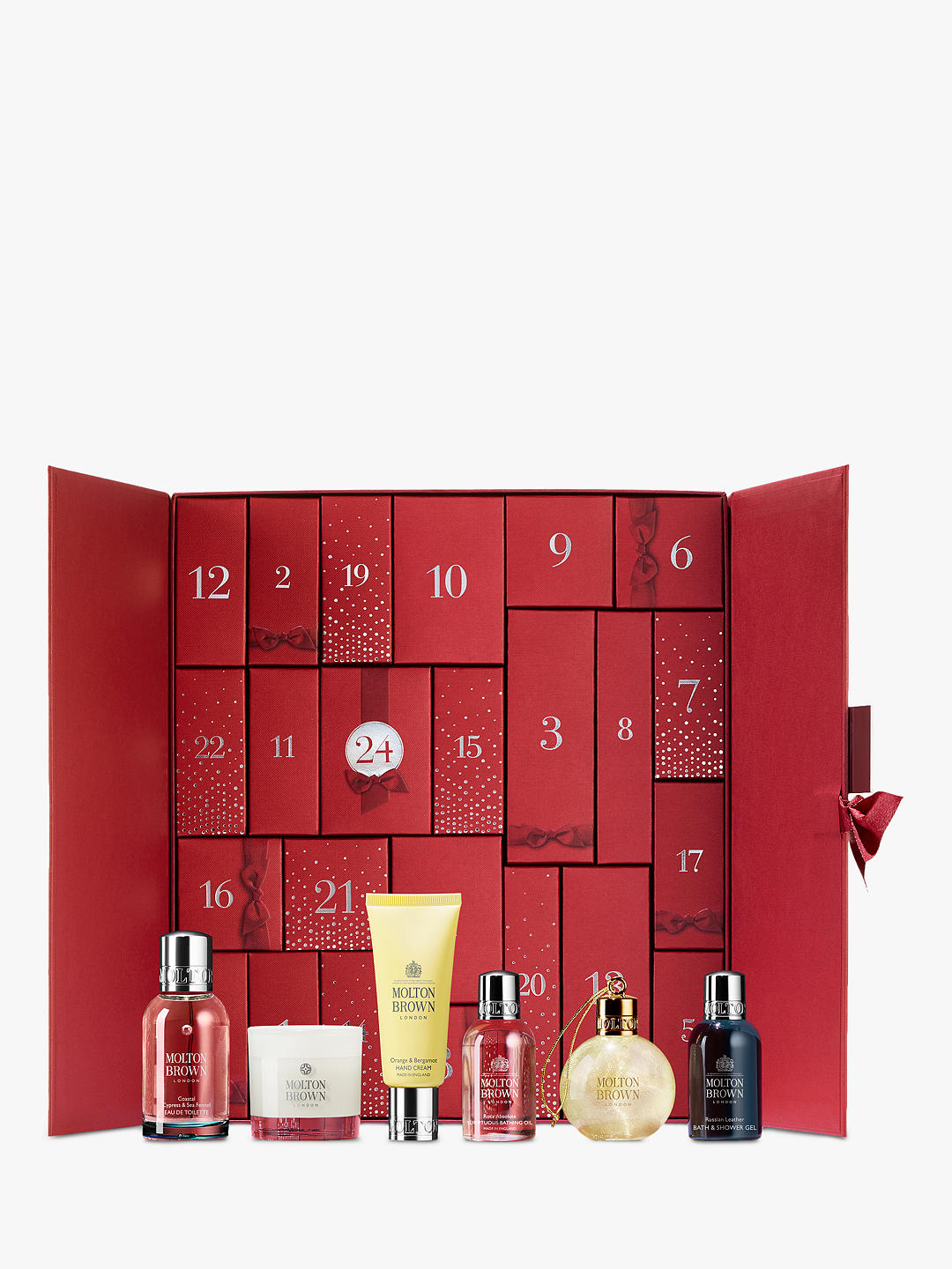 Countdown to Christmas with a luxury beauty calendar