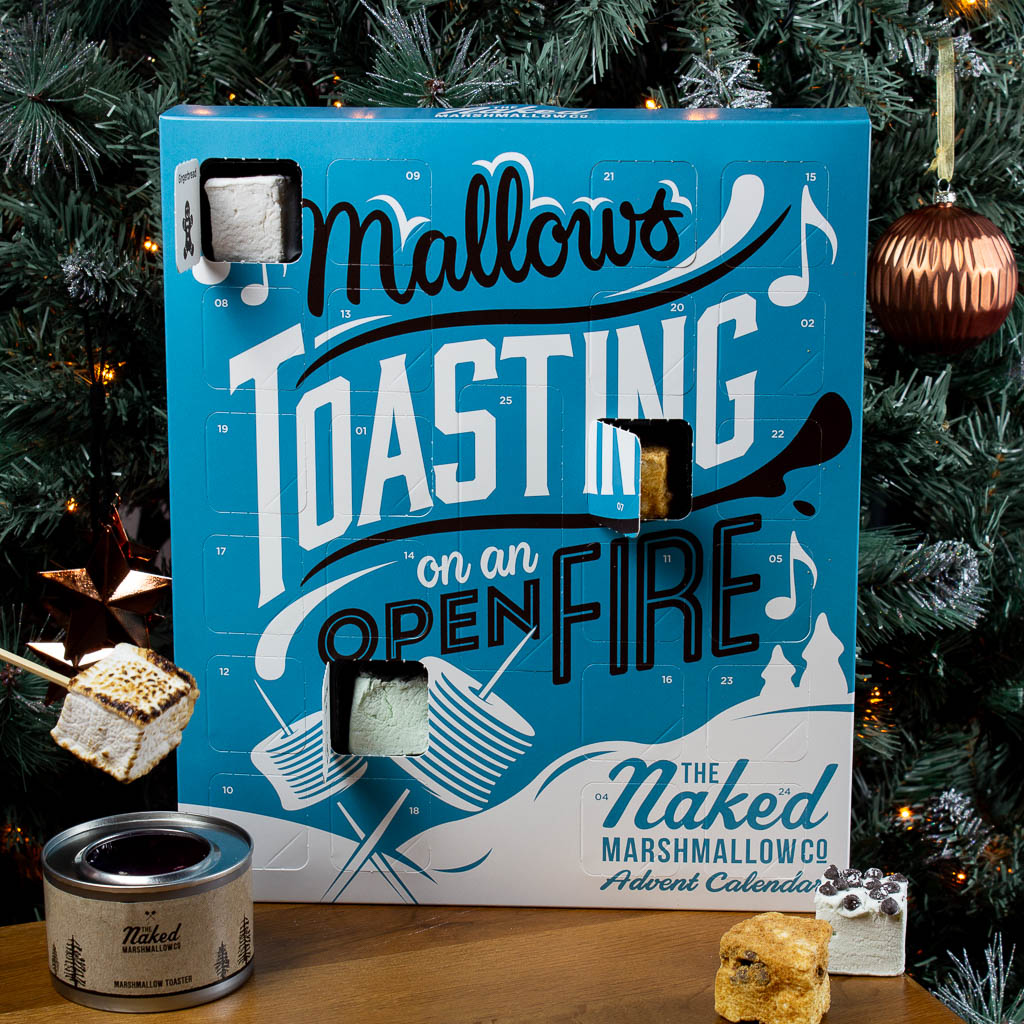 Countdown to Christmas with a gourmet marshmallow advent calendar