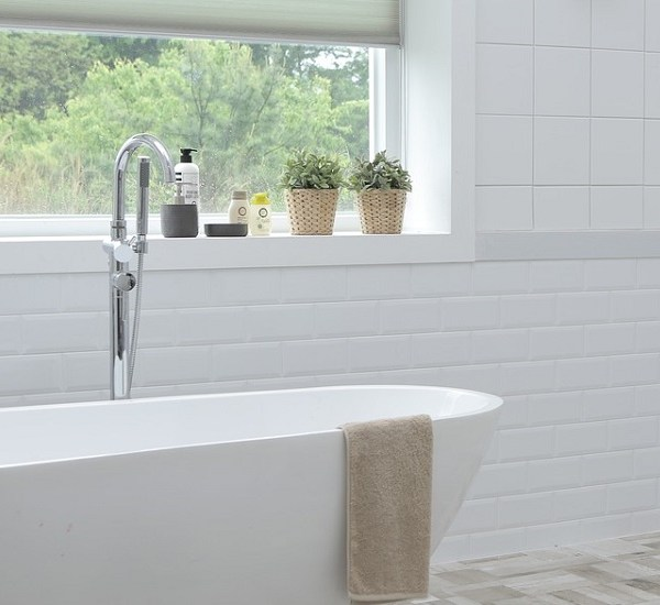 Thinking outside the box: bathroom storage options