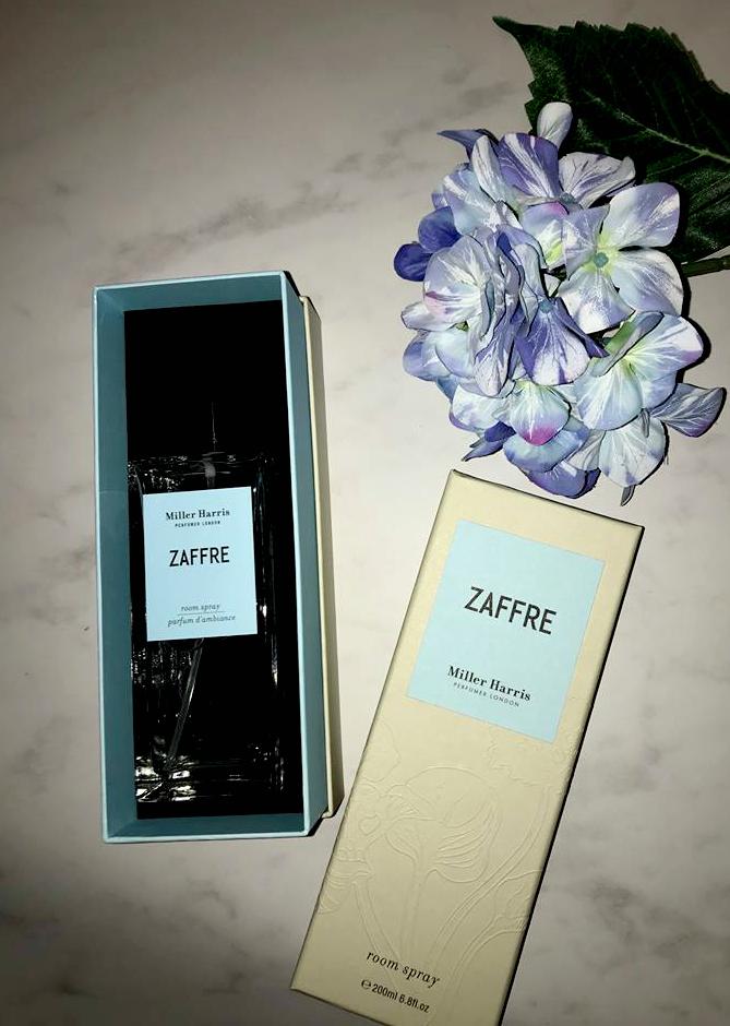 A truly perfect room spray that smells fresh and aquatic by London perfumer Miller Harris