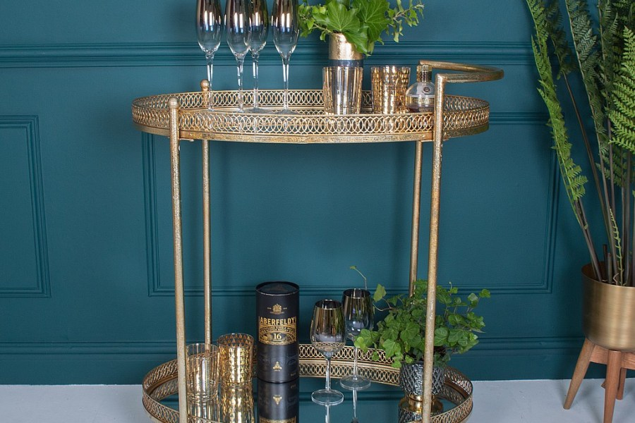 Cocktail hour: best bar carts and drinks trolleys
