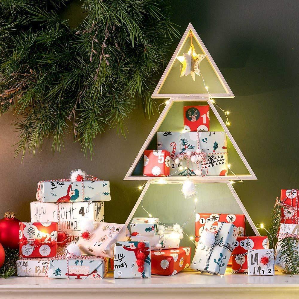 Christmas Display Ideas.The Christmas Tree Shelf Clever Decoration Display Ideas