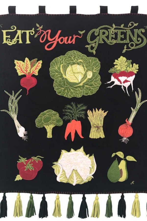 Eat Your Greens: Jan Constantine vegetable collection