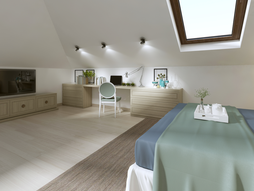 Dormer style windows are perfect for adding to a loft conversion and help provide a great source of light into the room