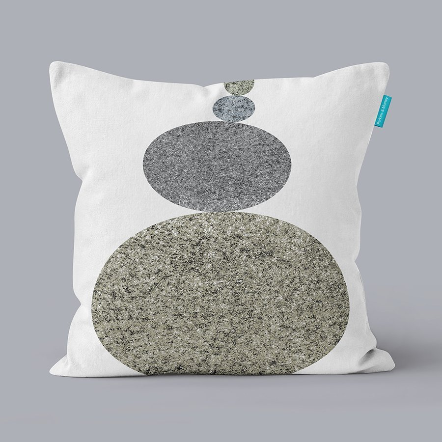 Cushion for a zen-inspired interior