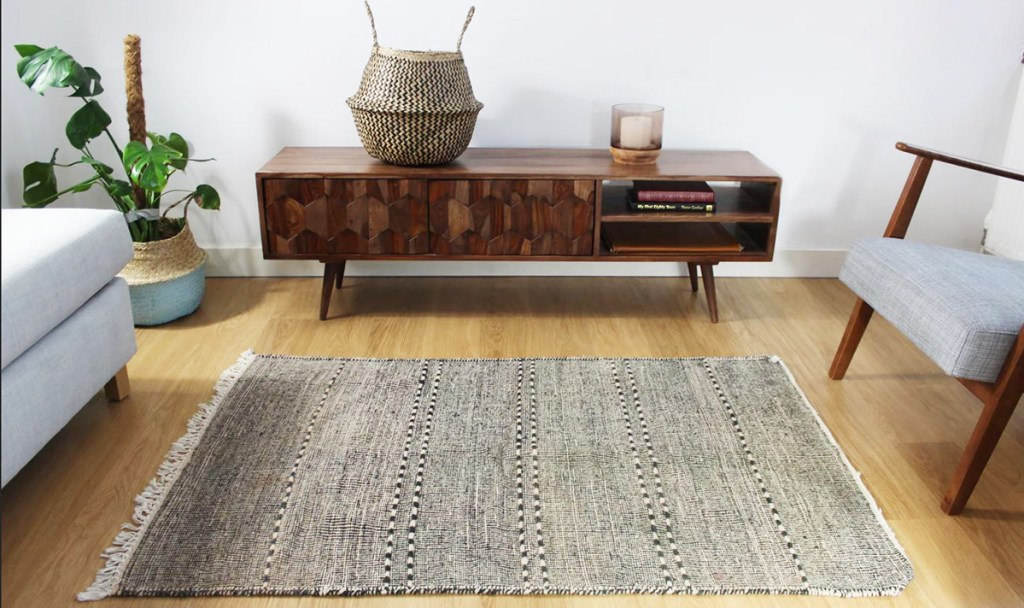 Artisan made Berber rug handcrafted in Morocco