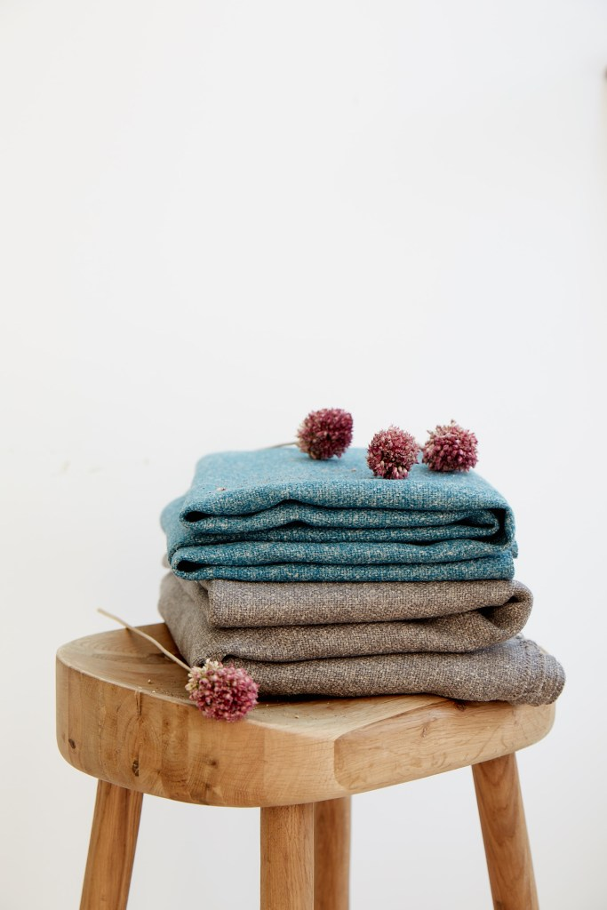 Sustainable design hemp fabric by Stitched, for all your responsibly sourced homeware