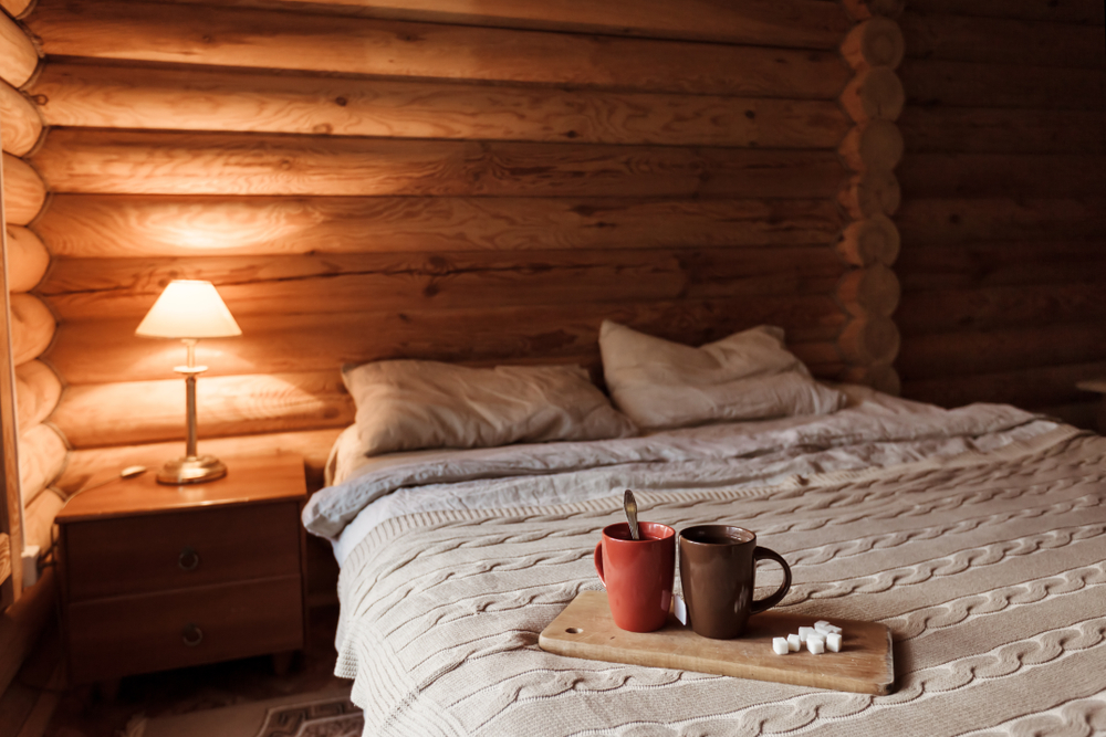 An unused garden shed could be converted into a cosy bedroom for guests, giving you valuable extra room