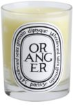 Luxurious Diptyque candle in the seasonal scent of Oranger