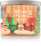 The warming and comforting scent of a hot cocoa and cream candle