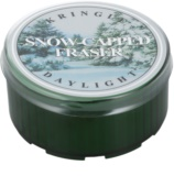 This Snowcapped fraser tree candle is a great example of a seasonal home scent for winter