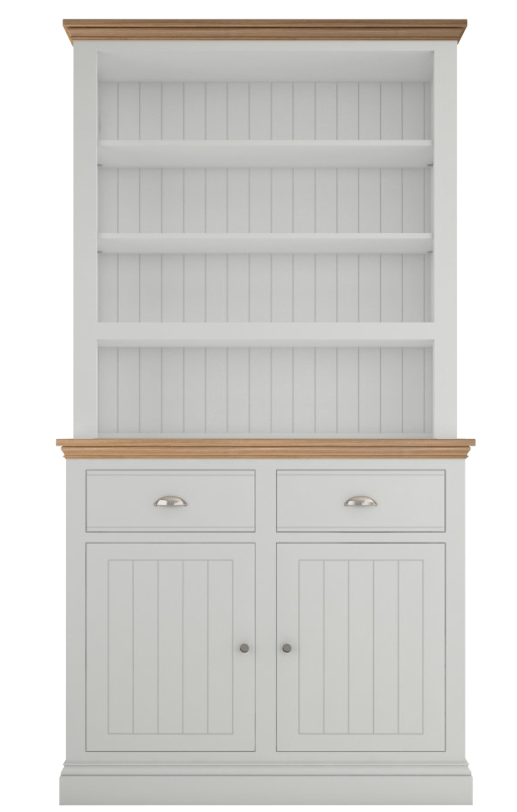 The perfect open dresser for the cottagecore decor in your home