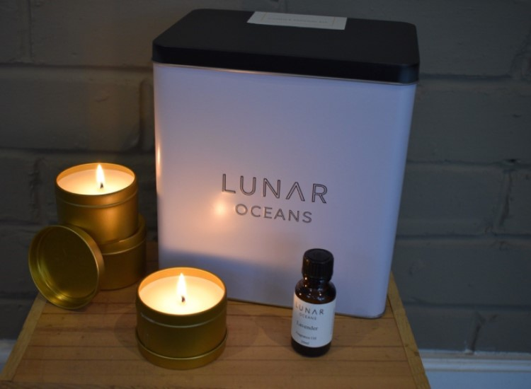 Lunar Oceans candle making kit