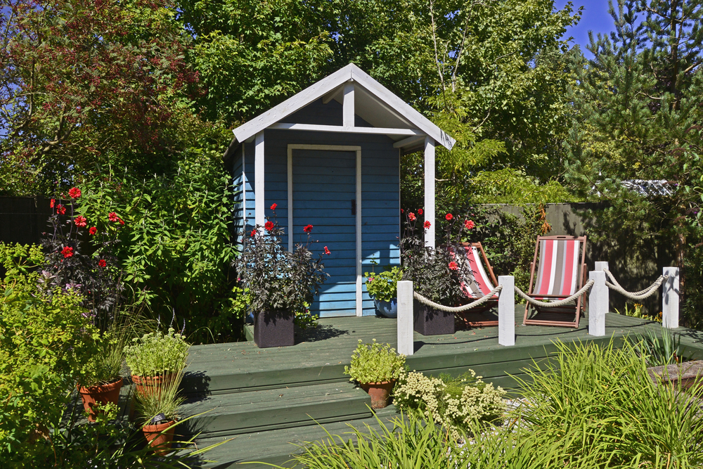 A garden shed can be very versatile and serve many needs