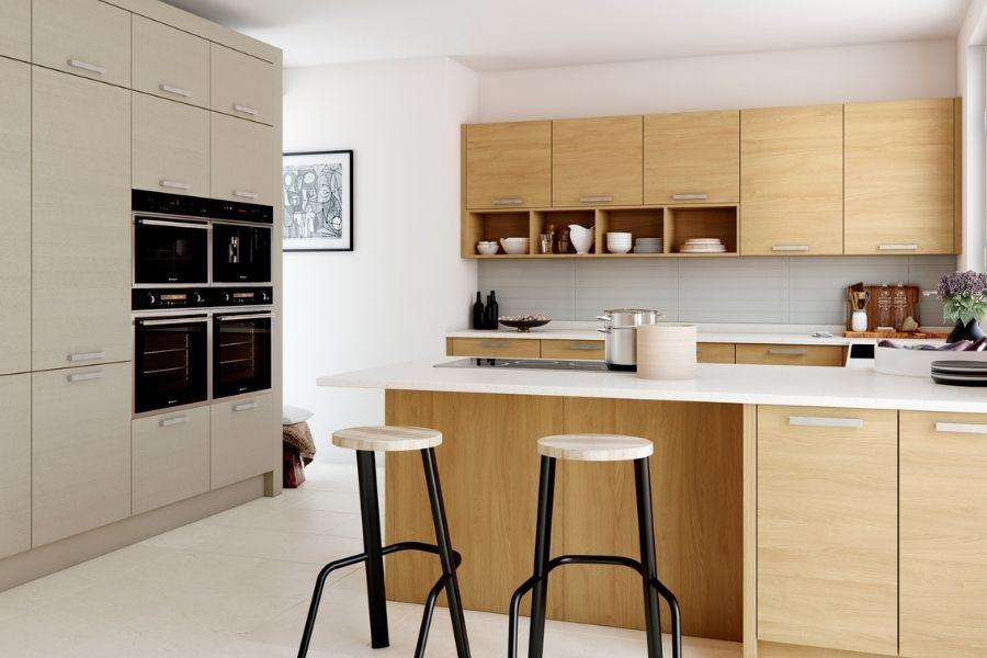 Stunning contemporary kitchen designed by Katie Brown Kitchens