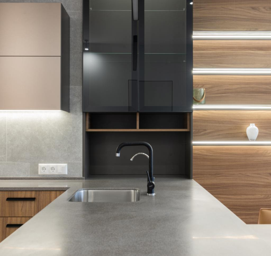 Hot water taps are all the trend in contemporary kitchens
