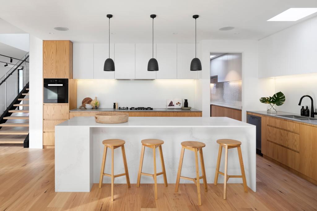 Modern, clean and minimalist kitchen design