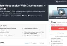 Complete Responsive Web Development: 4 courses in 1
