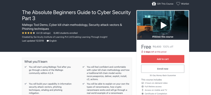 The Absolute Beginners Guide to Cyber Security Part 3