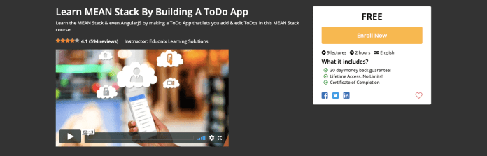 Learn MEAN Stack By Building A ToDo App