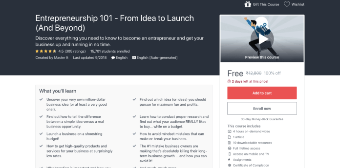 Entrepreneurship 101 - From Idea to Launch (And Beyond)