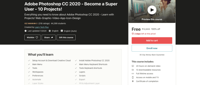 Adobe Photoshop CC 2020 - Become a Super User - 10 Projects!