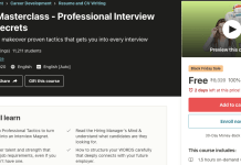 Resume Masterclass - Professional Interview Magnet Secrets