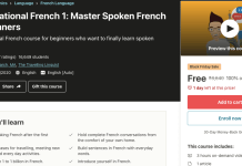 Conversational French 1: Master Spoken French for Beginners