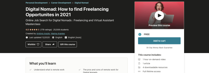 Digital Nomad: How to find Freelancing Opportunities in 2021