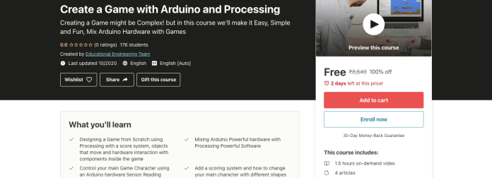 Create a Game with Arduino and Processing