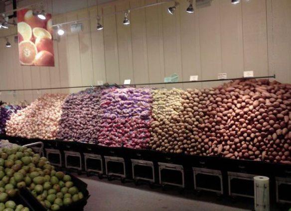 Potato Wall
