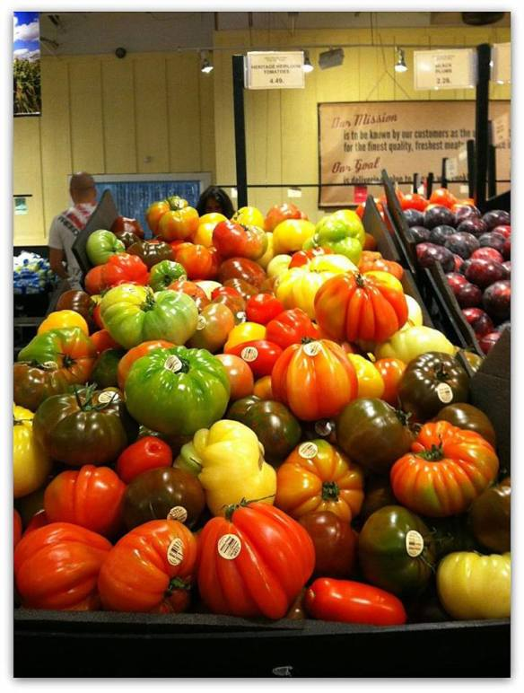 heirloom tomatoes - Freshfields